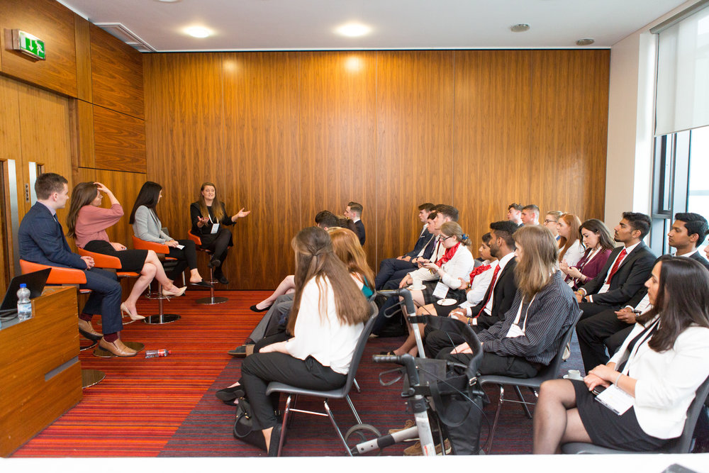 Alumni Breakfast Briefing at Enactus Ireland National Competition 2018