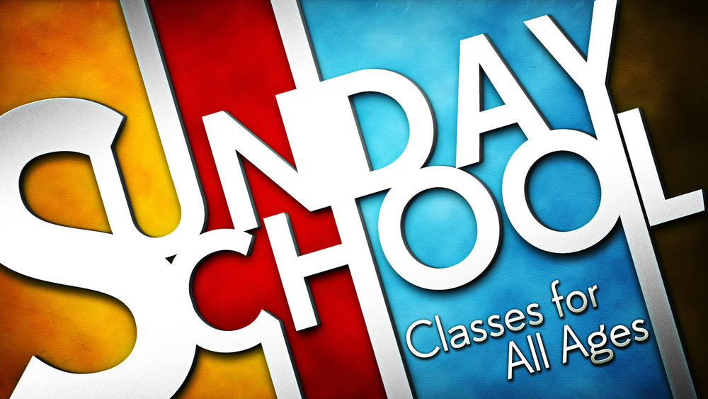 Sunday School - Kid & Nursery: All children have Sunday School in the Children's WingYouth: Teens from 6th-12th grade meet in the youthroom of Activity CenterAdults: There are 2 wonderful adult classes. One is in the fellowship hall, the other is in the coffee room