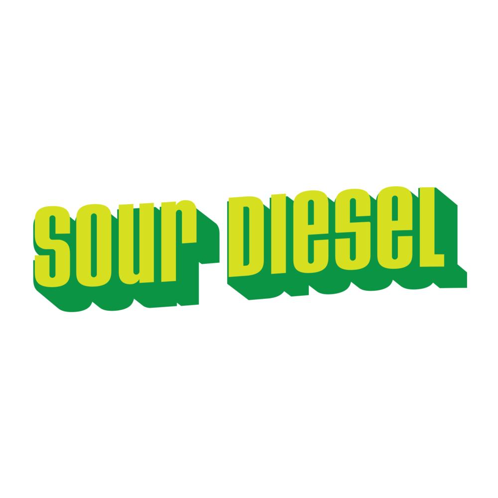Sour Diesel Logo Design