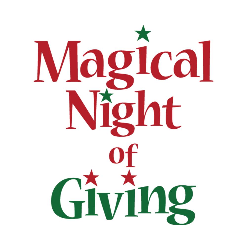 Magical Night of Giving Logo Design