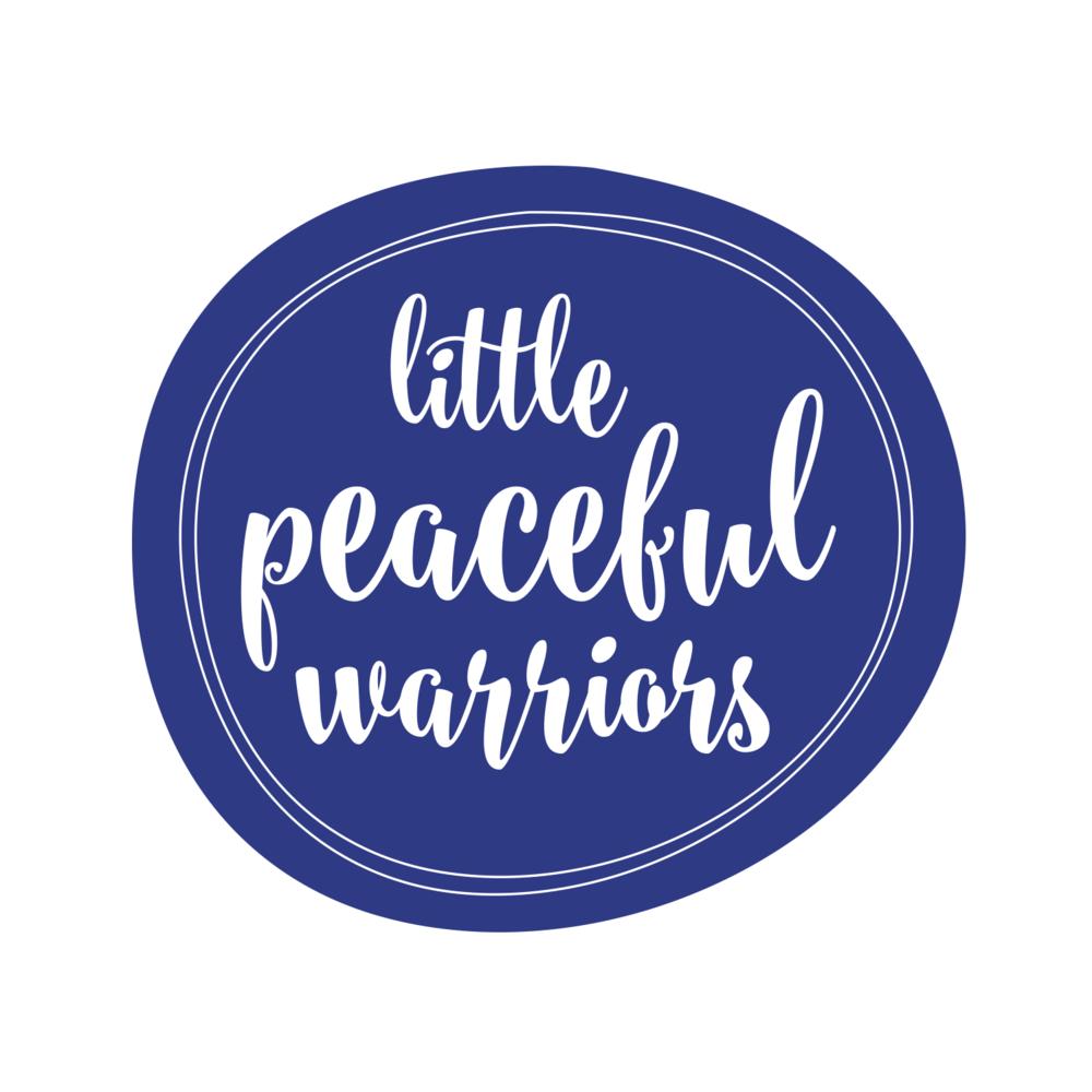 Little Peaceful Warrior Logo Design