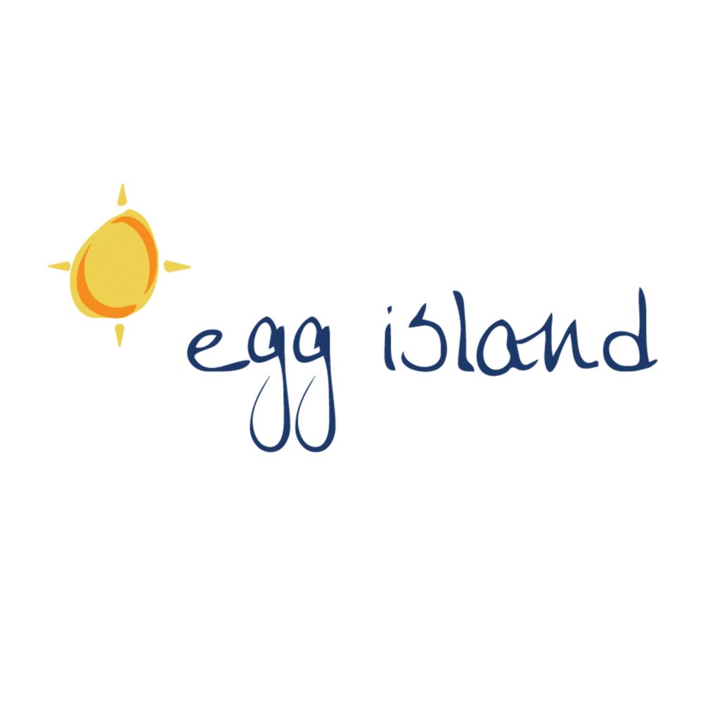 Egg Island Logo Design