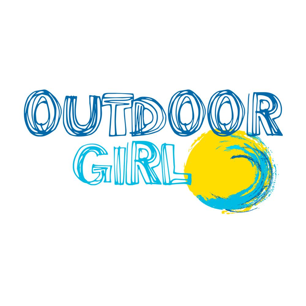 Outdoor Girl Logo Design