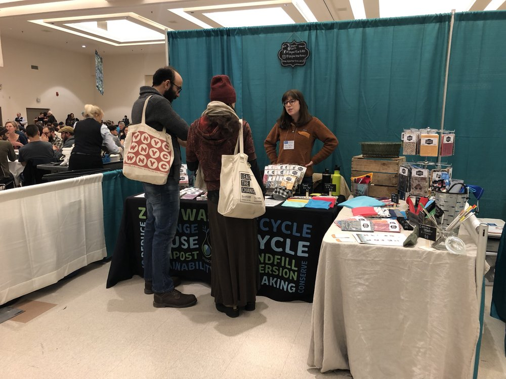 Tradeshow. - We were among a bunch of amazing local vendors with products that support organic farming and sustainable lifestyles.