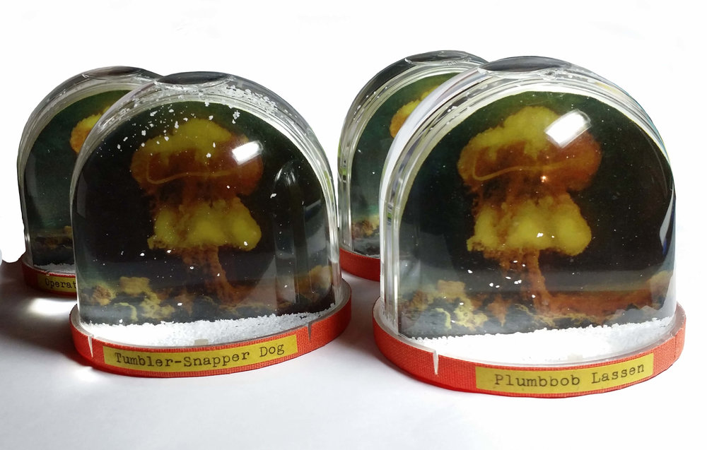 100 Suns Multiple Snowglobes