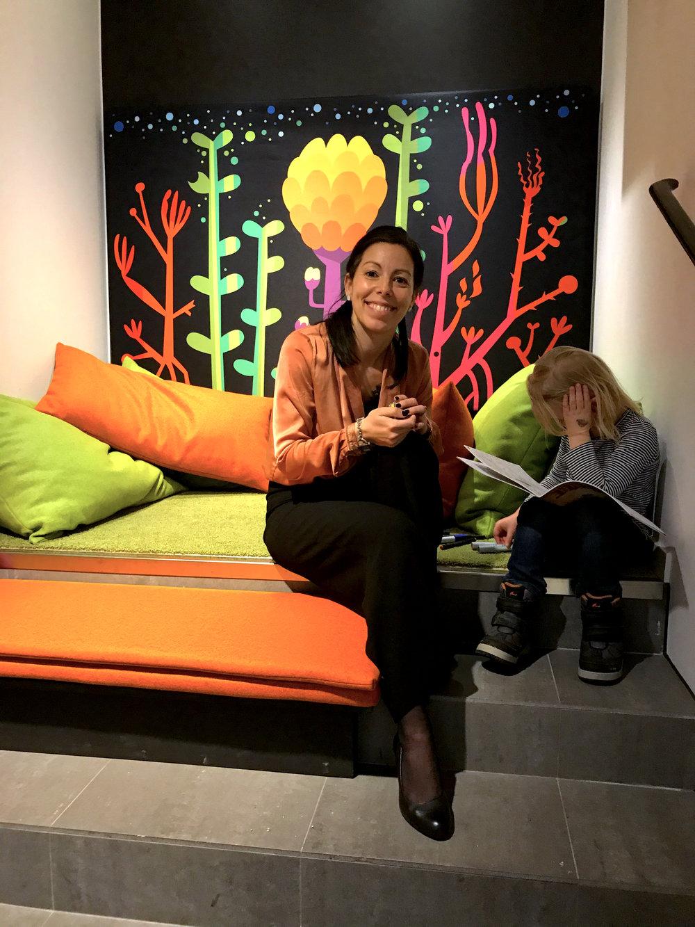 Juliana Falke, CEO Almi Gotland