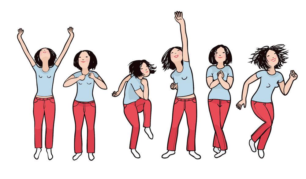 Happy body,  Förskolan