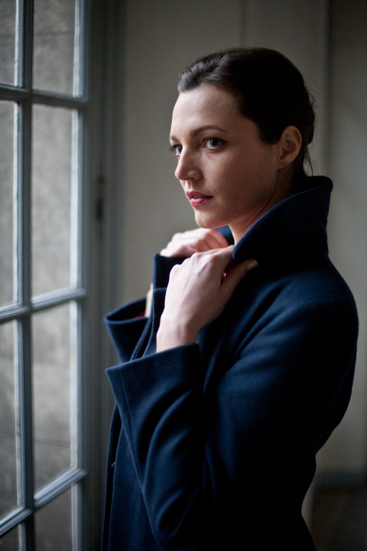Aujourd'hui c'était portait avec l'actrice Hélène Darras.