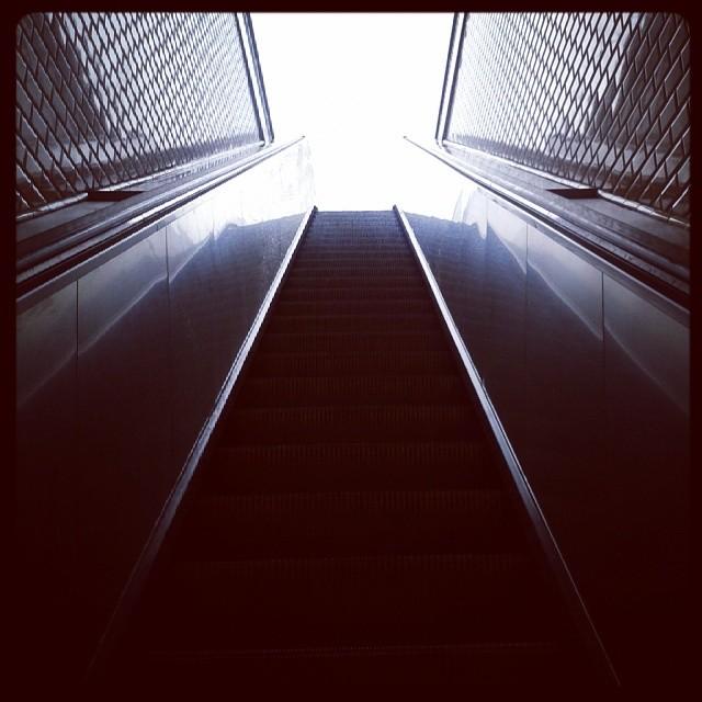 Escalator - Paris