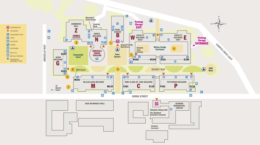 Map of Knight Management Center