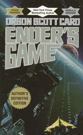 The cover image from Orson Scott Card's book Ender's Game