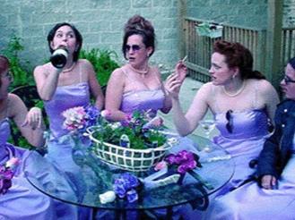 Five Women Wearing The Same Dress -