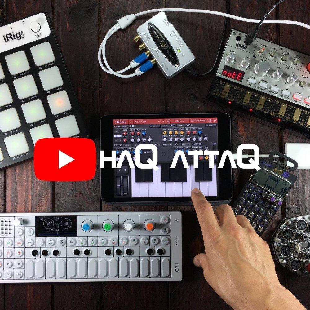 haQ attaQ youtube banner