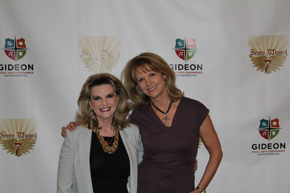 Jackie and Francine at the Gideon