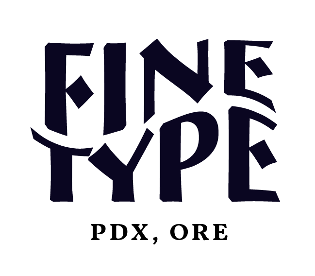 Fine Type Co. Full Service Branding & Web Design