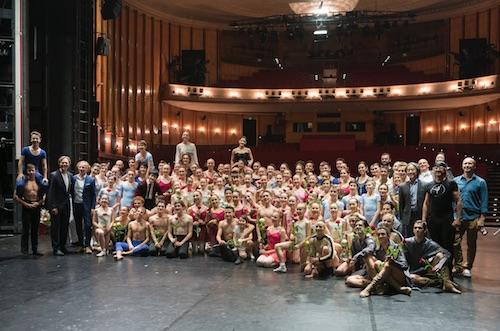 Studierenden und Mitglieder aus der wichtigsten europäischen Junior-Ensembles