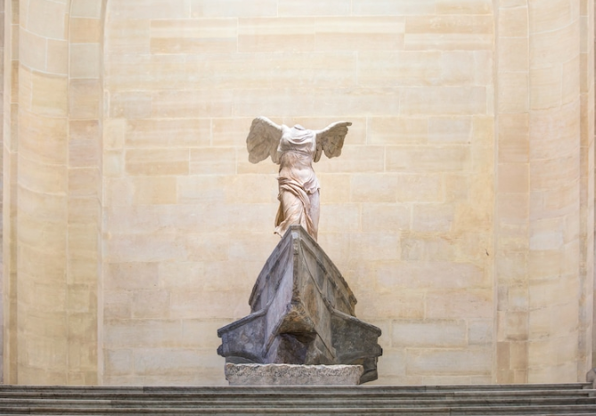 The Winged Victory of Samothrace (Photo:    muratart'    via    Shutterstock   )