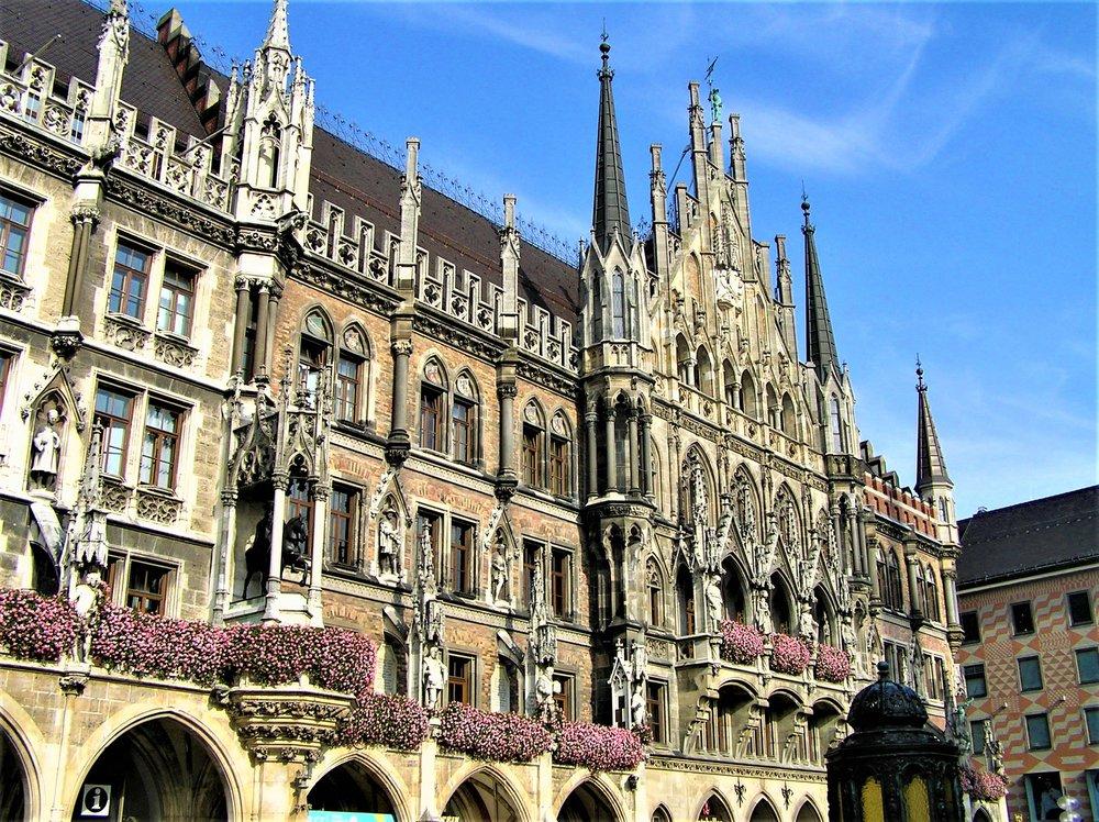 Neus Rathaus (New Town Hall), Munich