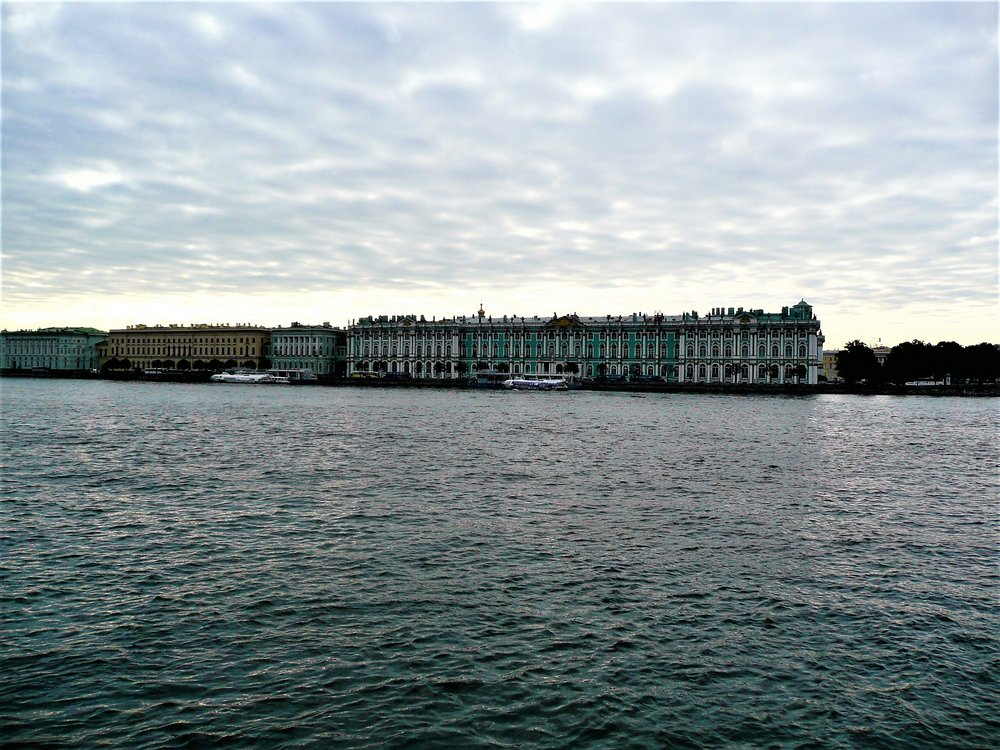The Winter Palace across the canal