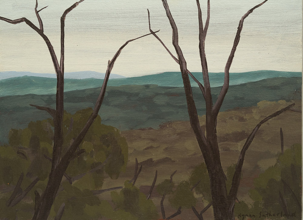 Landscape (Quartz Hill), 2018  22 x 30cm  Oil on Canvas on Board  $300