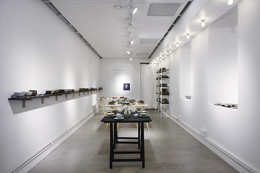 """Utställning, """"Finkrog och vardagsbord"""" på Konsthantverkarna i Stockholm."""