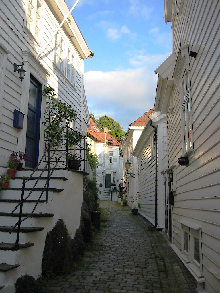 An old residential street