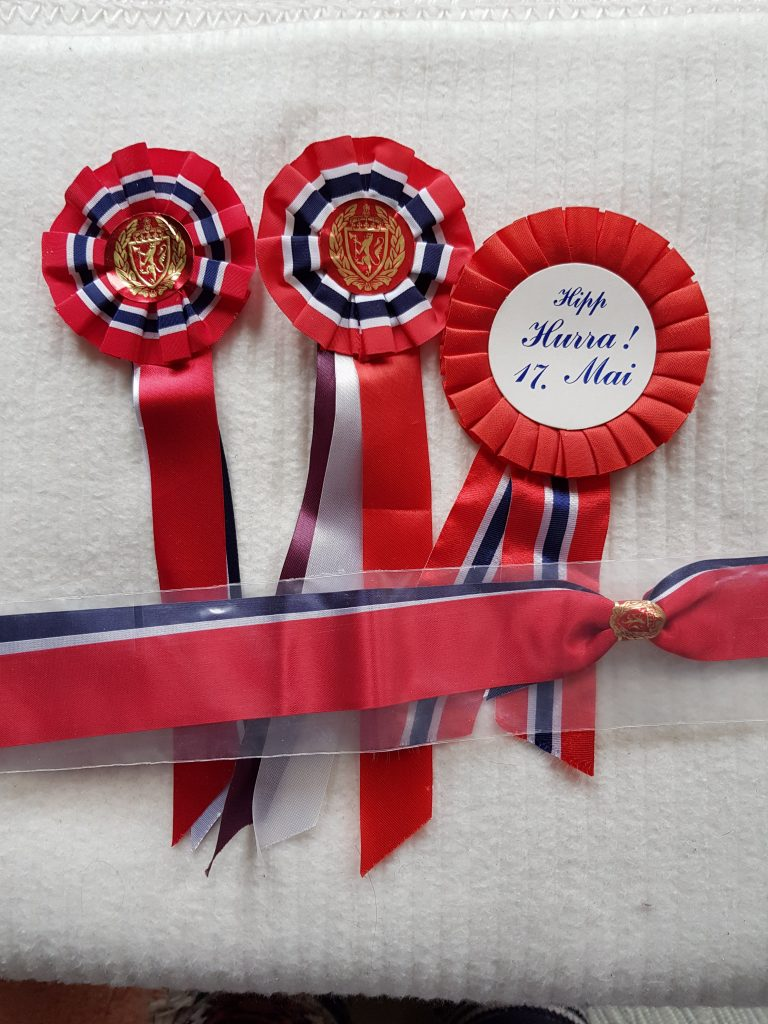 Constitutional Day ribbons