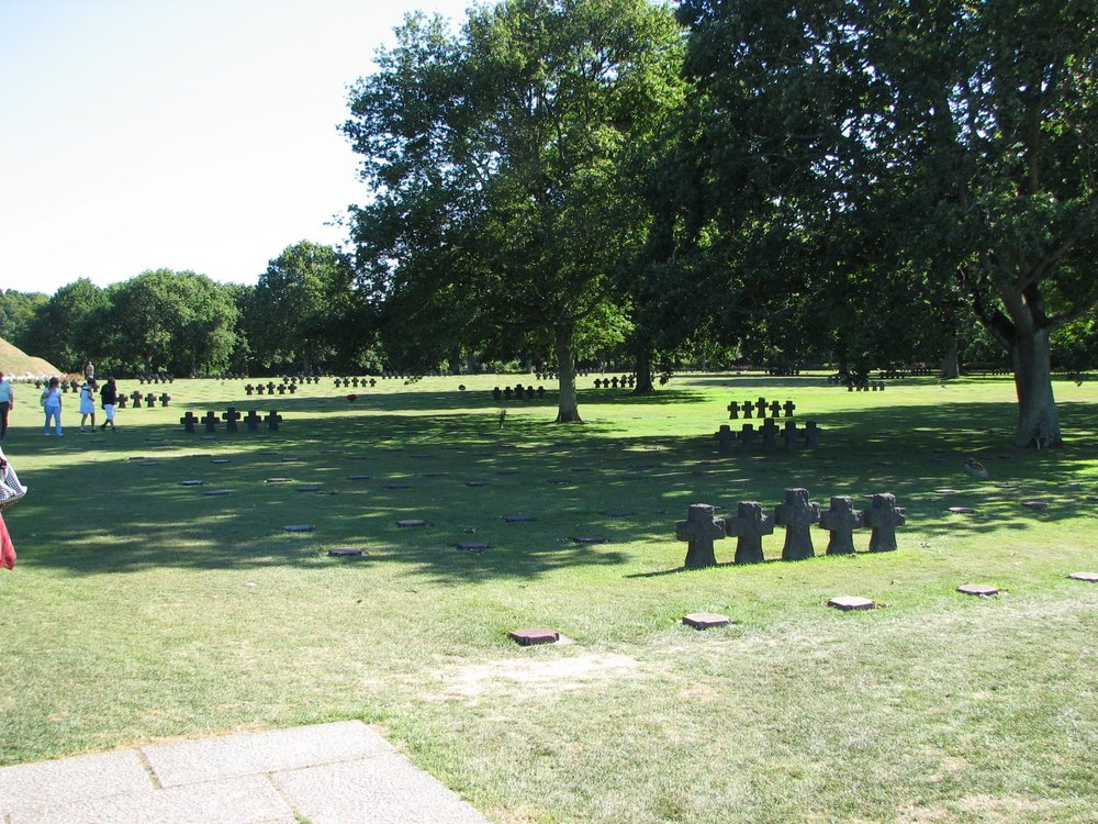 The German cemetery