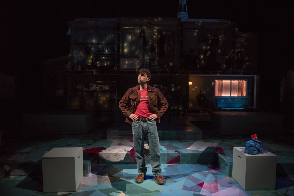 Director: Shade Murray  Scenic Designer: Paloma Locsin  Costume Designer: Emilee Orton  Lighting Designer: Jack Riley  Sound Designer: Sarah Parker  Technical Direction: Ethan Gill  Photo Credit: Michael Brosilow