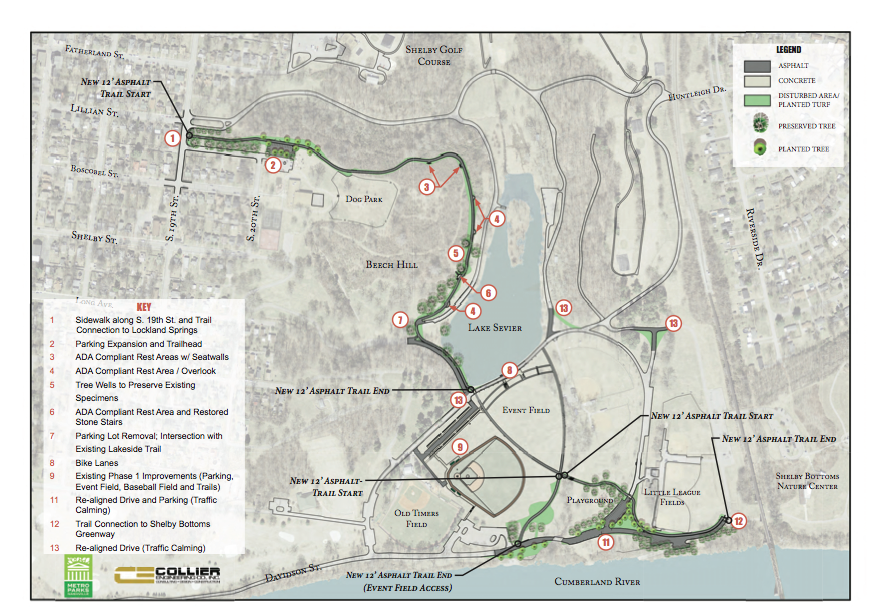 Shelby Park Map 2