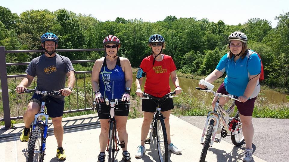 Cedars training ride with Karen and Cassandra