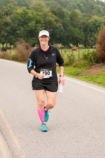 Melinda running