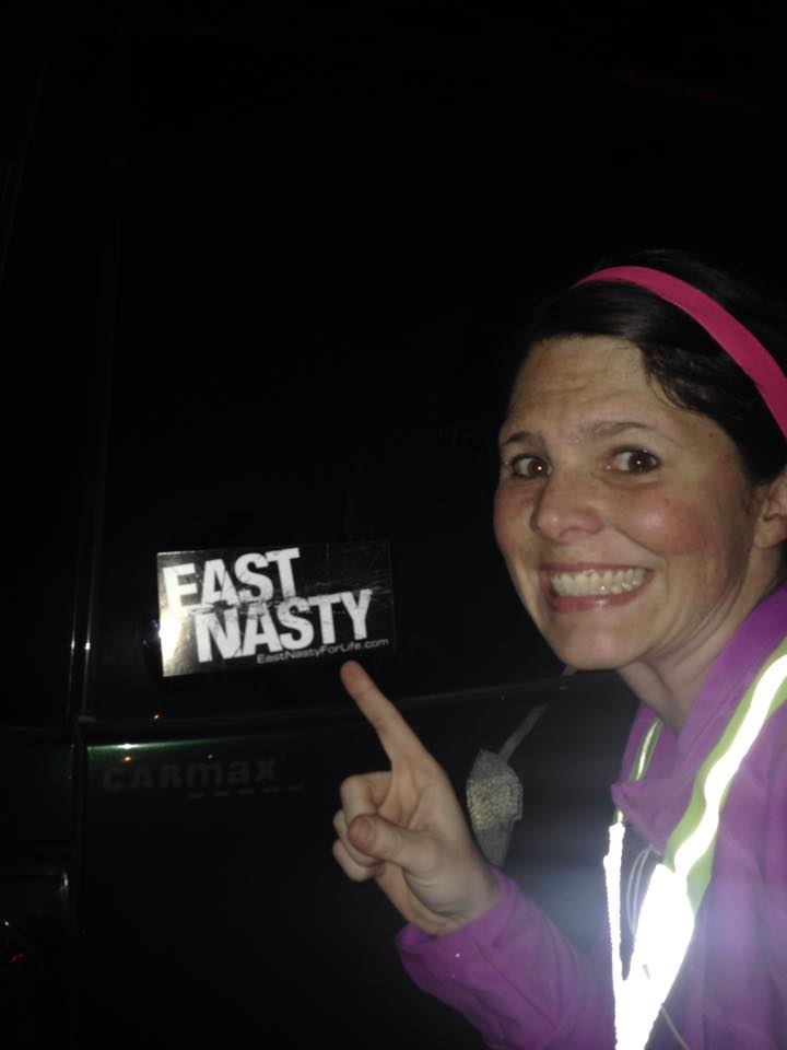 The Nasty! What we'll do for a sticker!