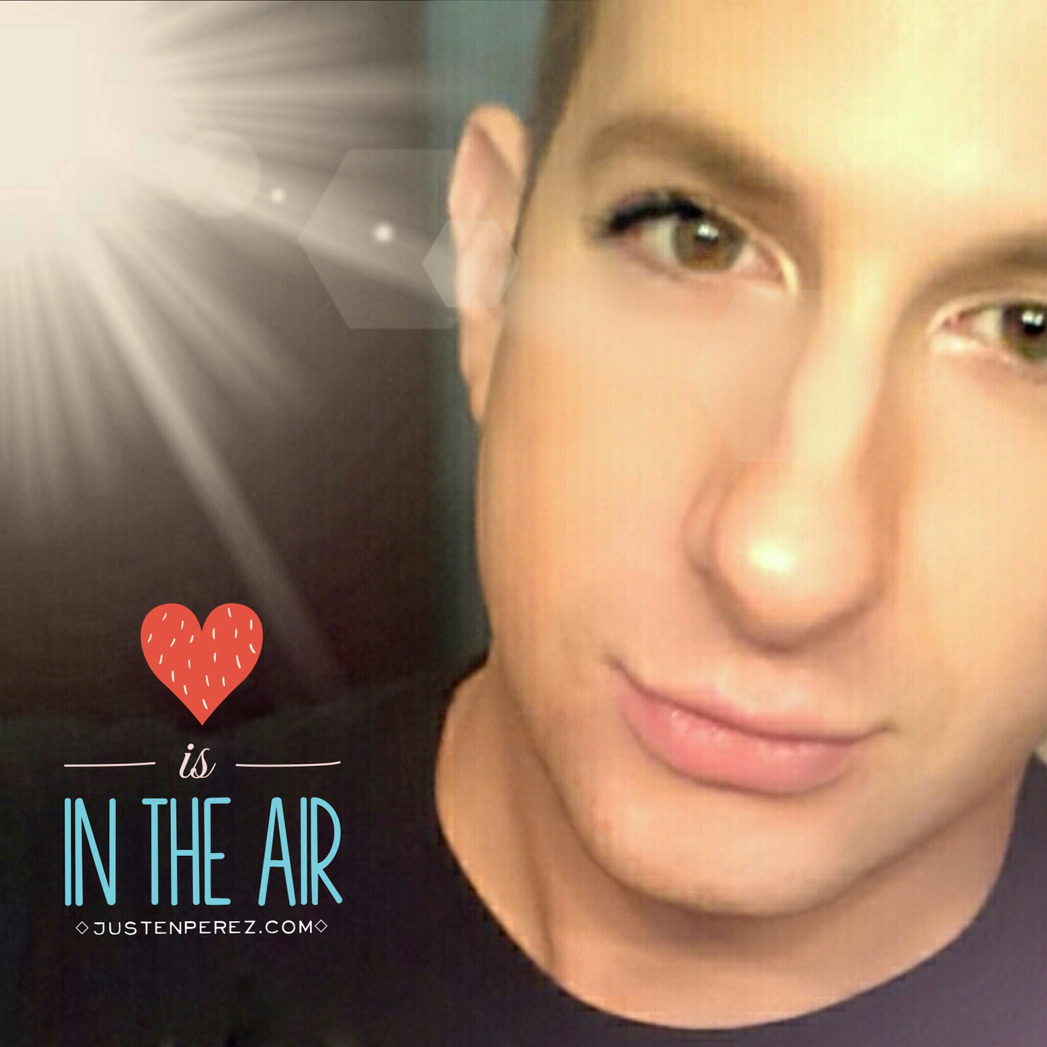Love is in the air collage