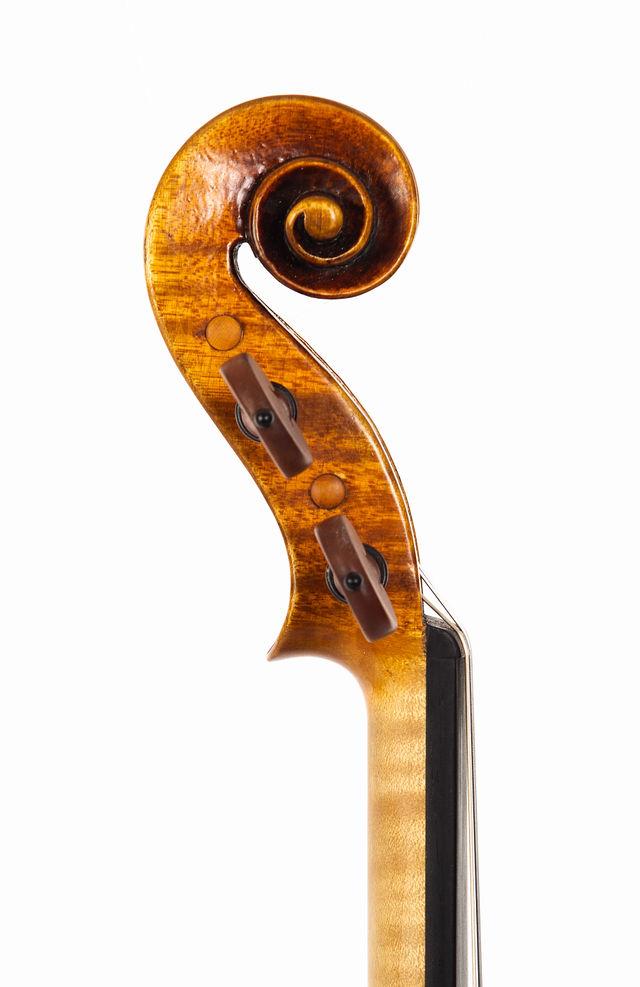 Starkie Strad model violin 2018 scroll.jpg