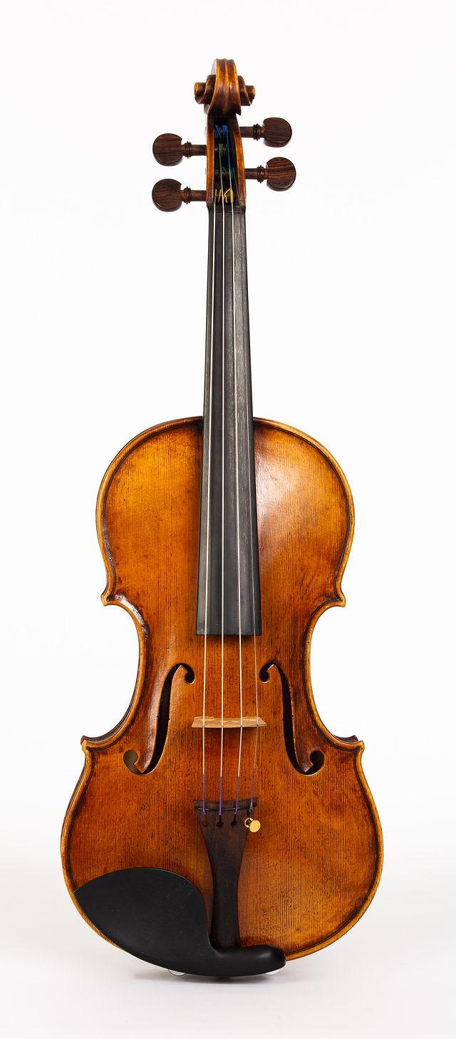Starkie Guarneri model violin 2016 front.jpg