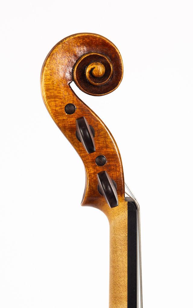Starkie Guarneri model violin 2016 scroll.jpg
