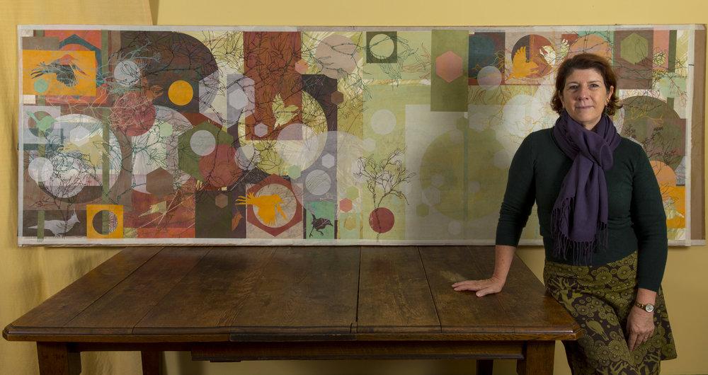 julie bradley with Sanctuart artwork 2015.jpg