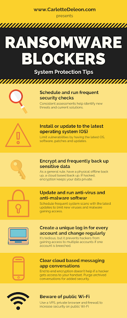 Ransomware protection tips