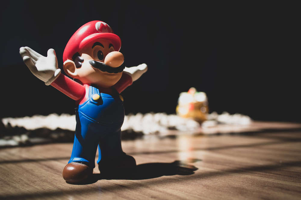 Super Mario Bros is a flagship game title for Nintendo