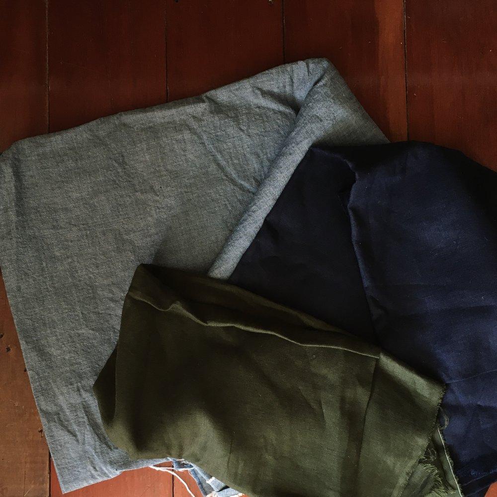 Three linens
