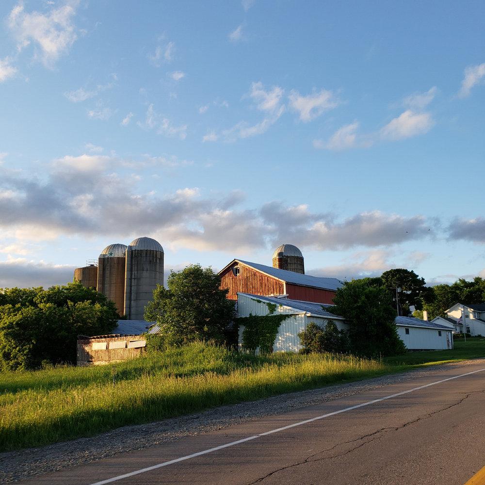 The beautiful Yeiter farm
