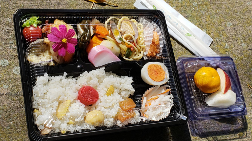 What fun to open up a bento box lunch!