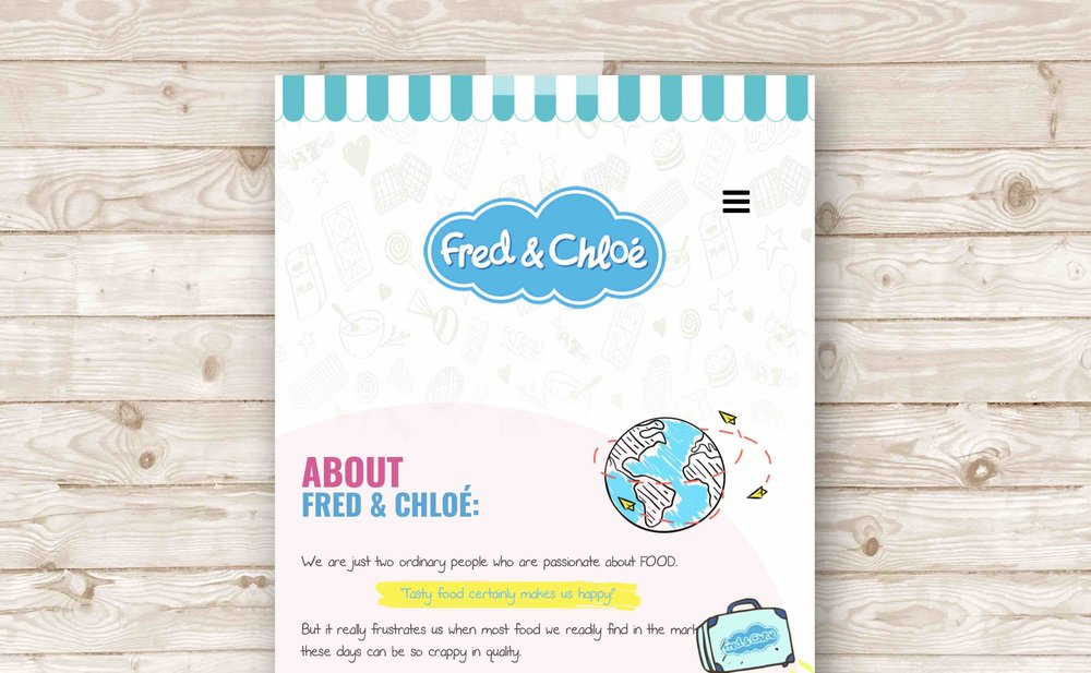 Fred&Chloé's Official Website → -