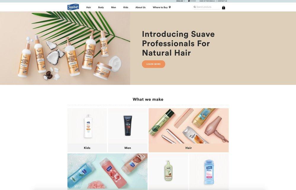 SUAVE's Website → -