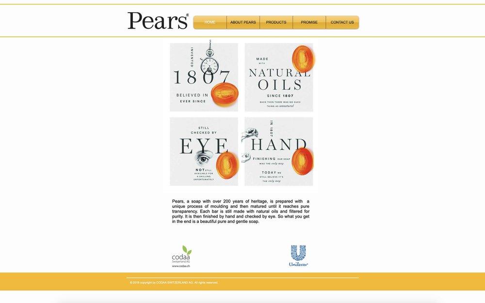 PEARS' Website → -