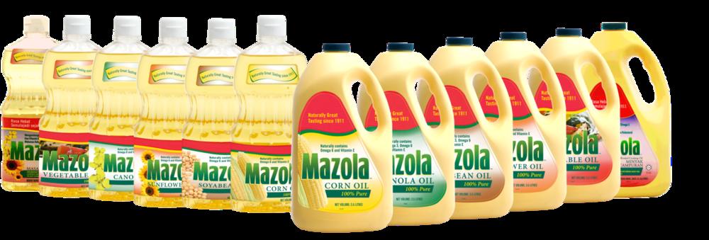 Mazola Product Group Shot