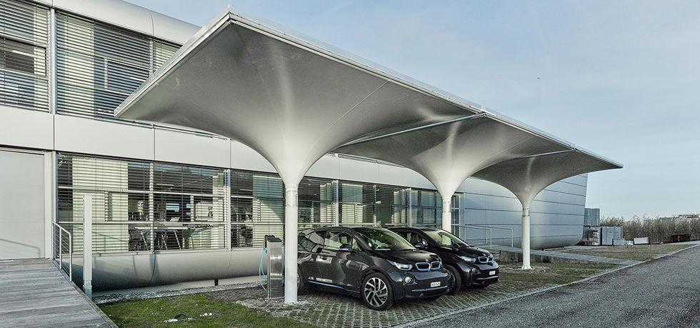Solar CarportSmart Solar Structure -