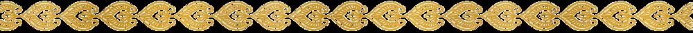 Mehndi gold pattern