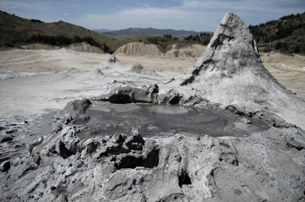 Mud Volcanoes -